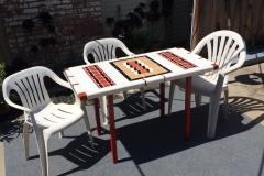 Decco Wave Picnic table